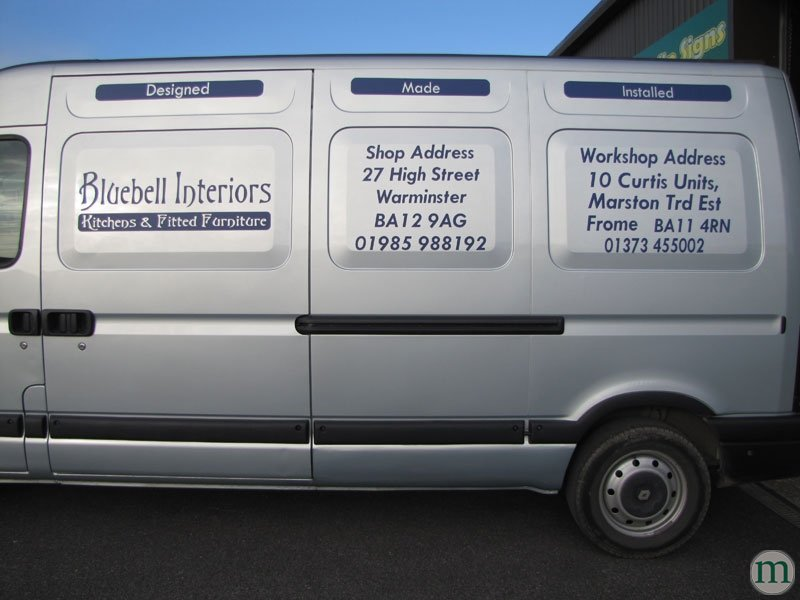 Mendip signs can create vehicle graphics to get your ...